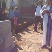 """Instalación de primera piedra del desayunador infantil en la comunidad El Chaparral """"Divina Providencia"""""""